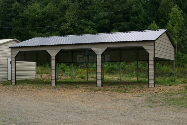 18x41x9-Carport-with-10x8-framed-opening-on-side