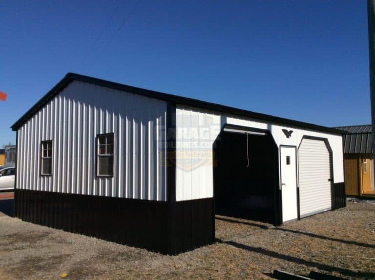24x36x10-all-vertical-2-car-garage-768x574
