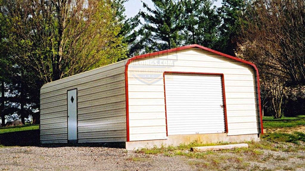 20x21 Metal Garage
