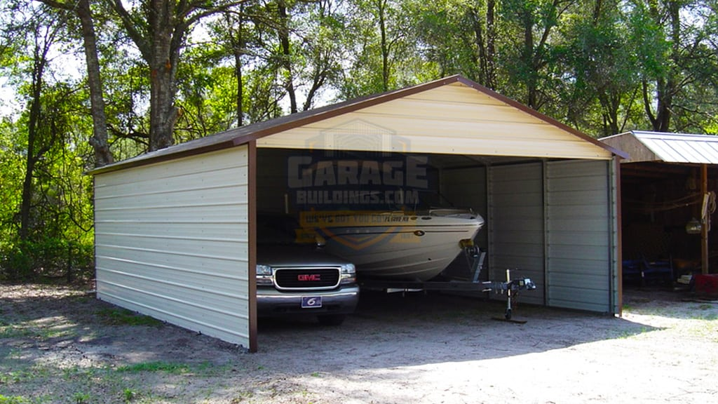22x24 Metal Boat Cover