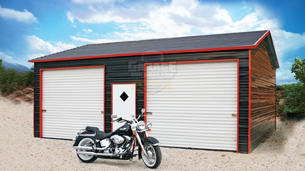 24x36 Boxed Eave Garage