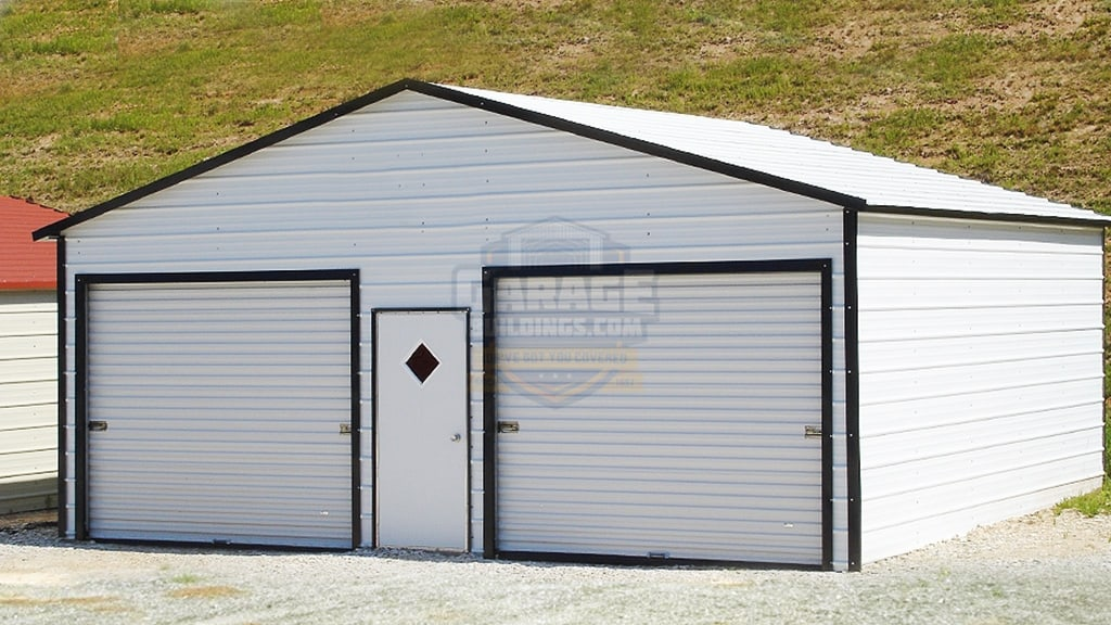 26x26 Two Car Garage