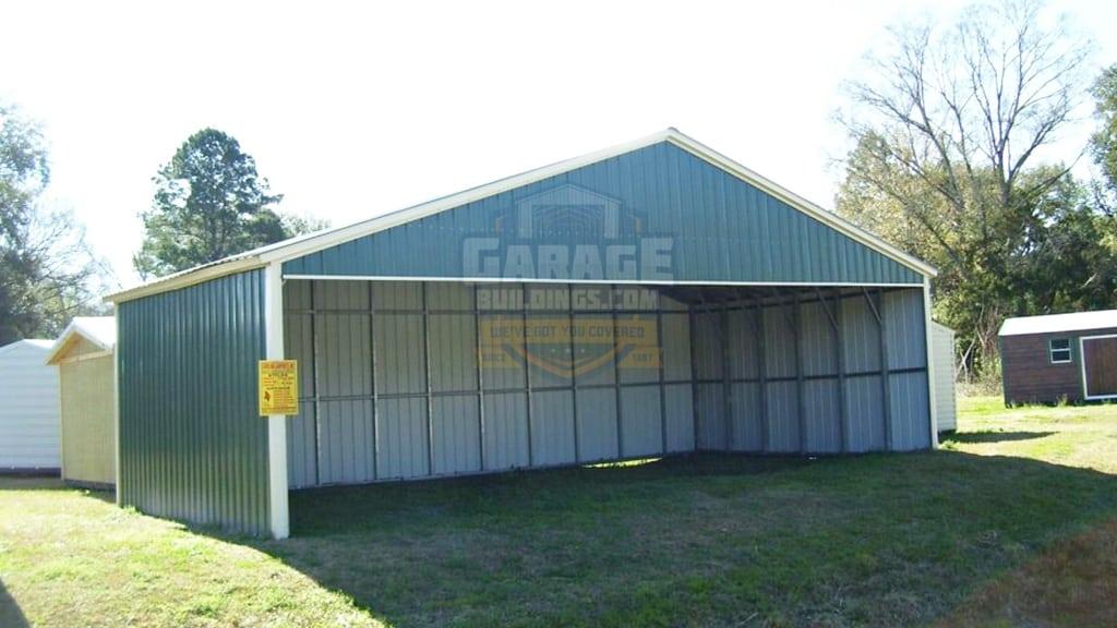 40x31 All Vertical Metal Carport
