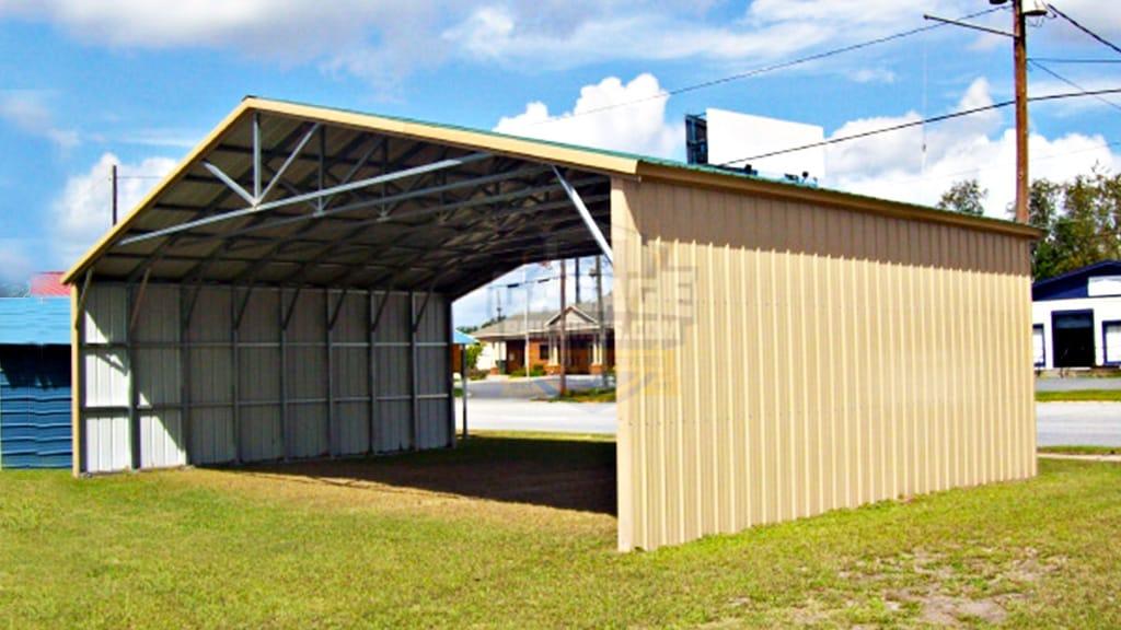 40x31 All Vertical Carport
