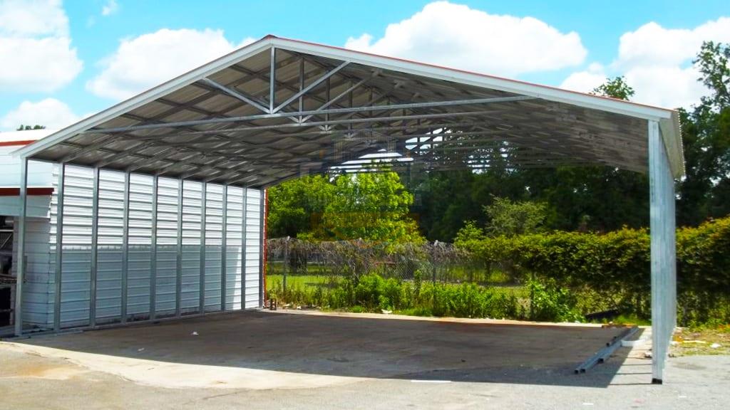 40x41 Commercial Carport