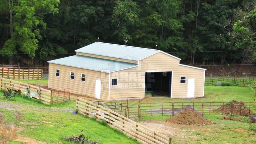 42x41 Carolina Barn