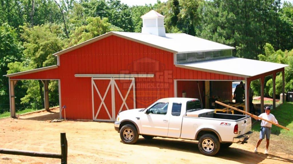 48x36 Carolina Barn