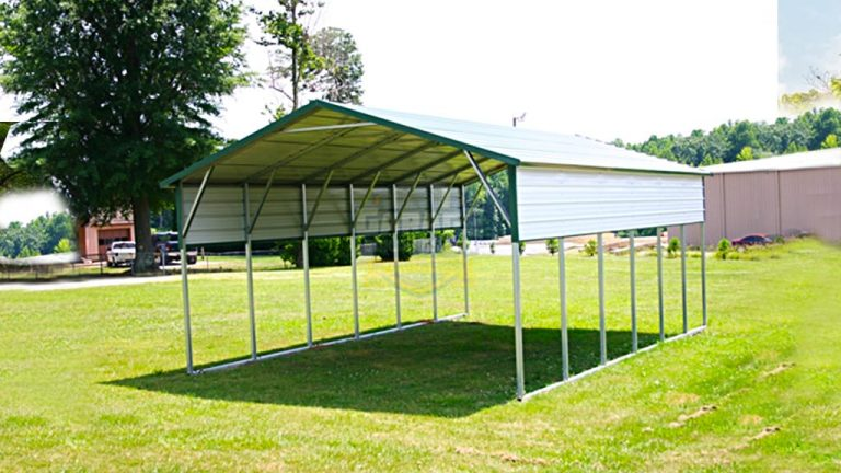 12x31 Boxed Eave Carport