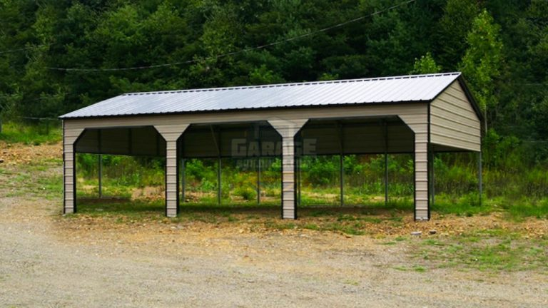 18x41 Metal Carport