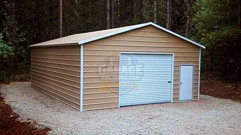 20x26 Boxed Eave Garage