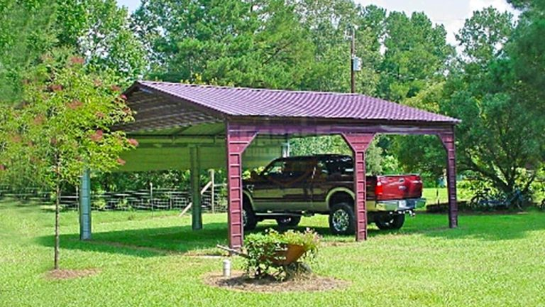 22x24 Side Entry Carport