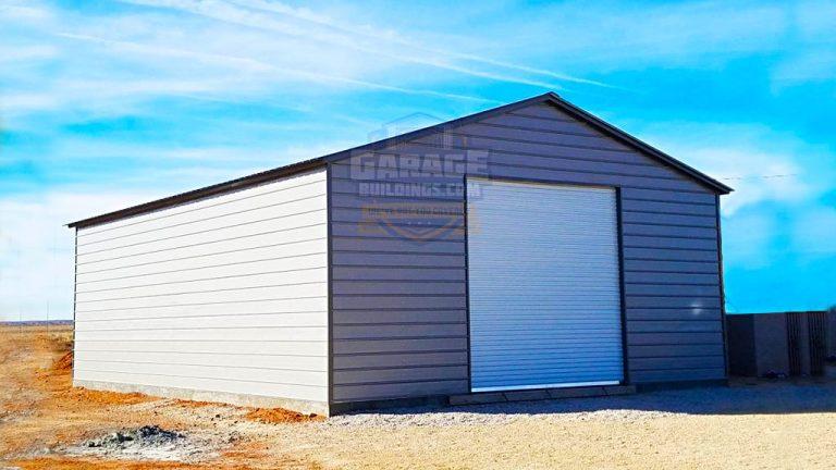 22x26 Metal Garage