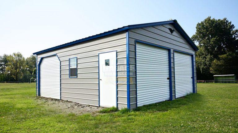 24x26 Metal Garage