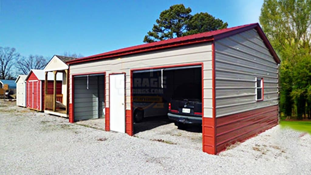 24x31 Two Car Garage