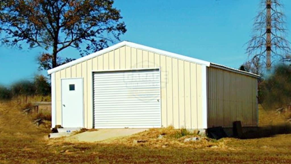 24x31 All Vertical Garage