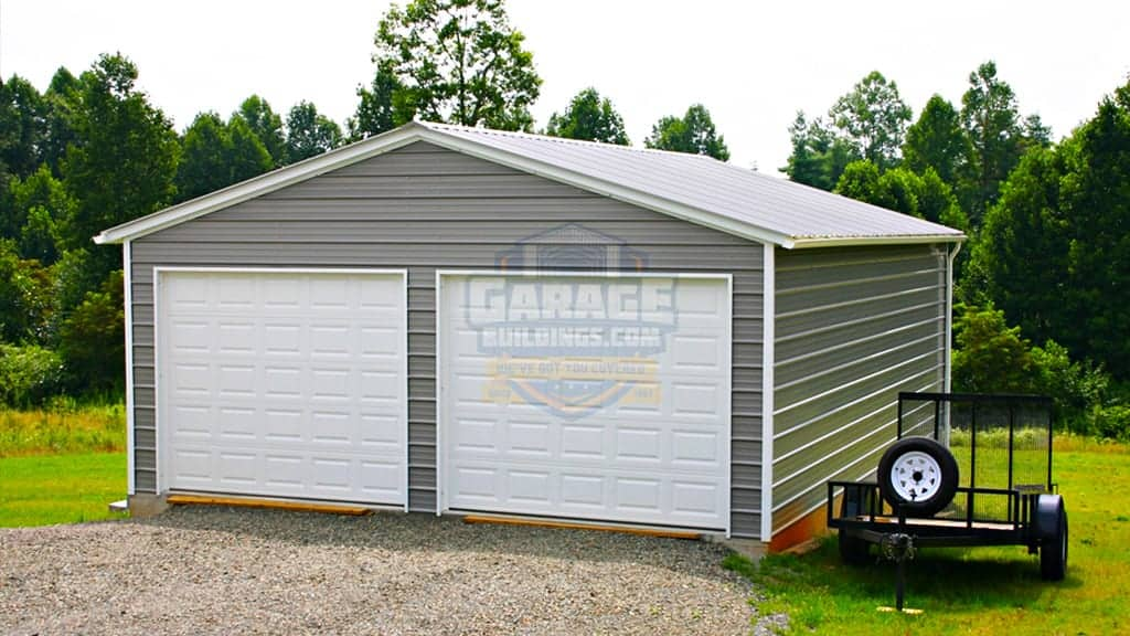 24x36 Double Car Garage