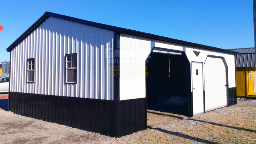 24x31 Two Car Garage Building