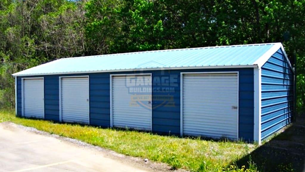 24x41 Metal Garage