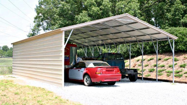 24x51 Metal Carport