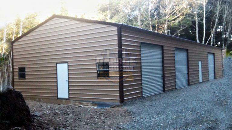 26x51 Metal Garage