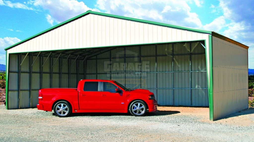 32x32 Commercial Carport