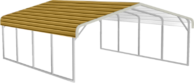 Regular Roof Style Metal Buildings