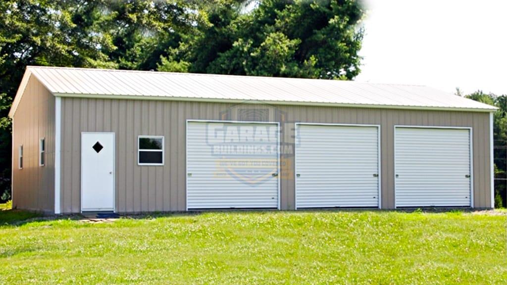 3 Car Garages