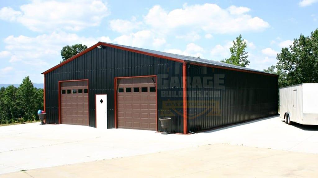 40x61 All Vertical Garage