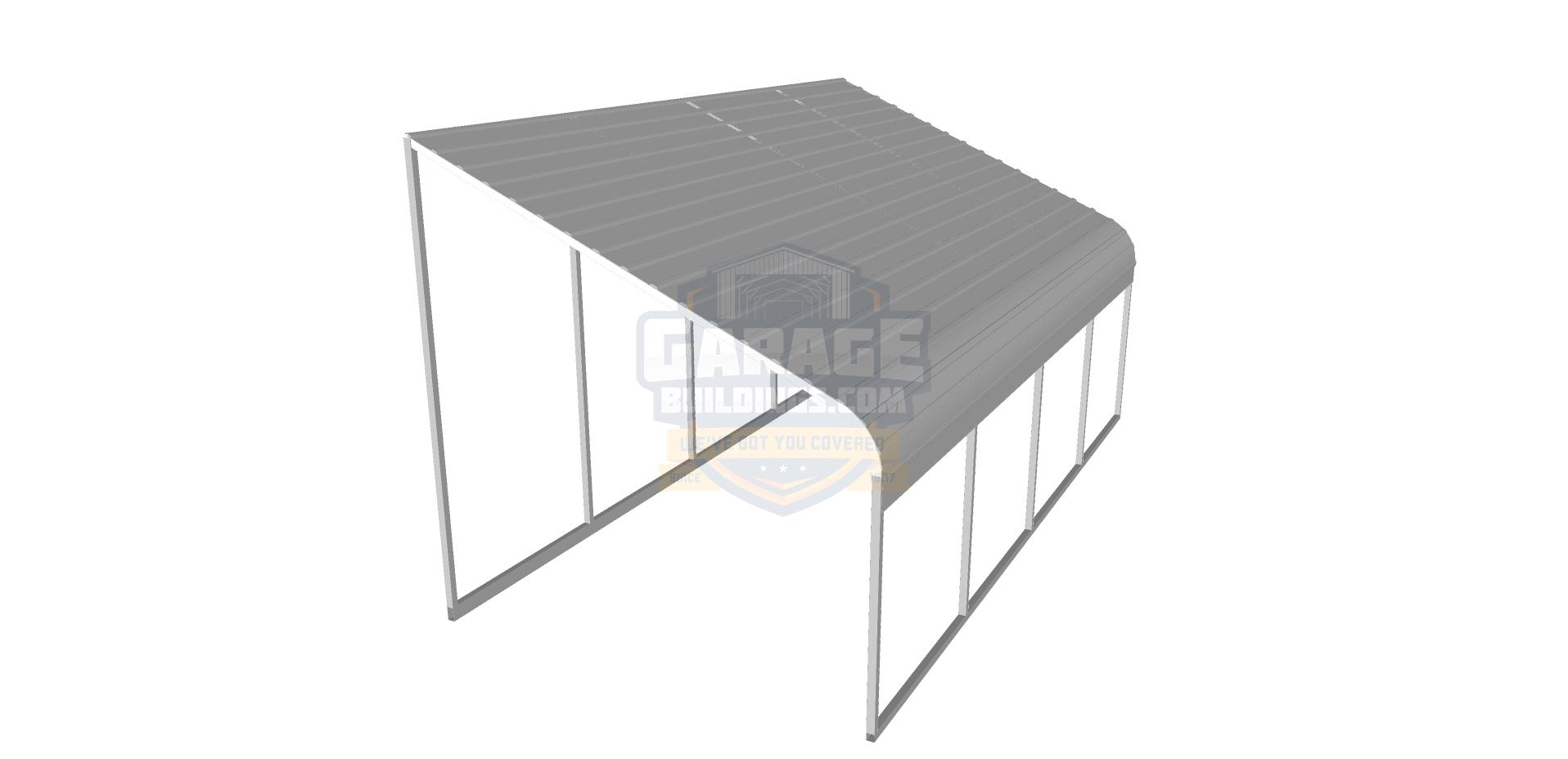 Lean-To Metal Roof