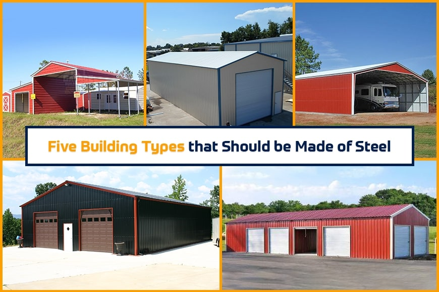 Five Building Types that Should be Made of Steel