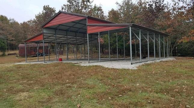 44x31 Metal Barn