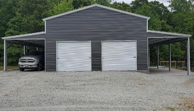 30x41 Metal Barn