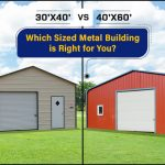 30'x40' vs. 40'x60': Which Sized Metal Building is Right for You?