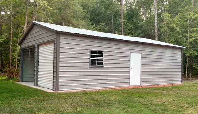 22x36 Vertical Roof Garage