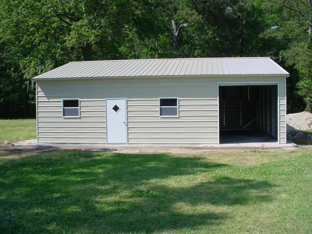 Vertical roof garage
