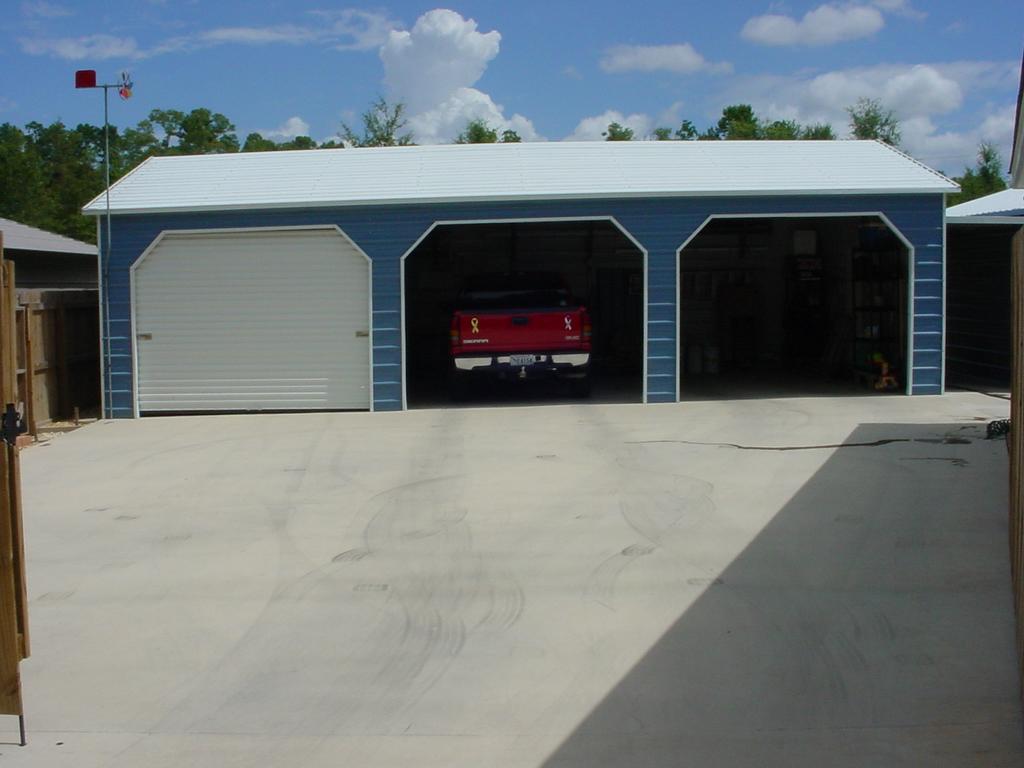 Commercial Metal Garage